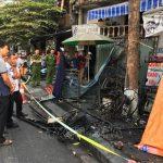 Cháy lớn tại cửa hàng xe máy điện, ba người trong một gia đình thiệt mạng