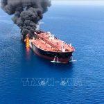 Nhật Bản đề nghị Mỹ đưa ra bằng chứng Iran tấn công tàu trên Vịnh Oman