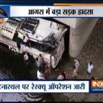 Xe buýt tông dải phân cách rồi lao xuống sông, ít nhất 29 người thiệt mạng